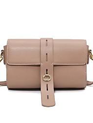 cheap -Women's Bags Crossbody Bag Office & Career 2021 MessengerBag Black Khaki Brown Coffee