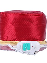 cheap -red-water ripple-u.s. standard hair care styling bamei satin three-speed electric heating cap thermostat perm cap hair evaporating cap dyeing and oiling