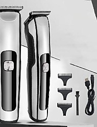 cheap -Men'S Electric Hair Clipper Home Hair Salon Engraving Push White Small Hair Clipper Retro Oil Head Hair Clipper