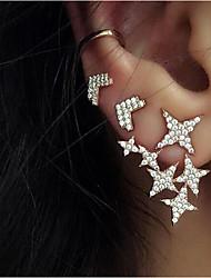cheap -Women's Stud Earrings Single Earring Geometrical Star Fashion Earrings Jewelry Gold For Christmas Party Evening Street Gift Date 1 set