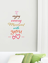 cheap -sweet valentine's day remove stickers from your home decoration background for valentine's day 57*30cm