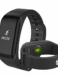 cheap -Waza F1 Blood Pressure Heart Rate Monitor Smart Wristband Bracelet For iPhone X 8 Plus S8 OnePlus5 Sport Smart Watch