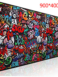 cheap -paint 900*400 mm gaming mouse pad / keyboard pad / large size desk mat rubber dest mat