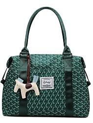 cheap -Women's Bags PU Leather Top Handle Bag Buttons Zipper Daily Outdoor Handbags Baguette Bag Black Yellow Green Gray
