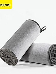 cheap -BASEUS 1pc Fiber Microfiber Towel Thicken