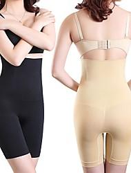 cheap -Reinforced Body Shaping Clothes Abdomen Pants Split Suit Body Postpartum Slimming Clothes High Waist Abdomen Panties Women Shapewear