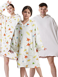 cheap -oversized sherpa wearable star blanket hoodie with pocket for unisex kids cosplay one size fits all