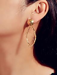 cheap -Women's Drop Earrings Geometrical Fashion Trendy Earrings Jewelry Gold / Silver For Date Festival