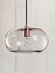 cheap -30cm led pendant light nordic modern single design restaurant glass living room bedroom bedside sofa bar counter cafe corridor