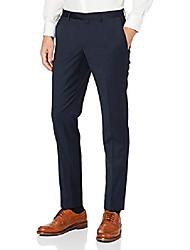 cheap -men's trousers nos shape suit trousers, blue (navy 680), no information (manufacturer size: 28)