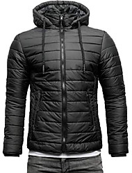 cheap -elements nano men's transitional down jacket quilted jacket with hood (s, black)