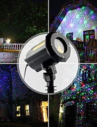cheap -Laser Light Projector Pattern Firefly 3 Models in 1 with18 Patterns RGB Waterproof Outdoor Laser Garden and Christmas Lights with RF Remote Control and Security kit