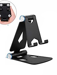 cheap -Adjustable Cellphone Stand, 2Pack Aluminum Desktop Phone Holder with Anti-Slip Base and Convenient Charging Port for iPhone 11 Xs XR X 8 SE 2020, All Android Smartphone