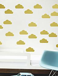 cheap -cartoon children's room cloud wall sticker vinyl environment friendly and tasteless ins wall sticker vinyl removable self adhesive