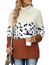 cheap -ladies jumpers pullover tops knitwear sweaters for women turtleneck oversized jumpers