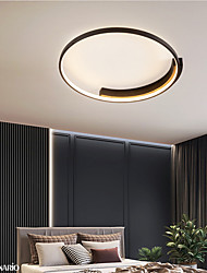 cheap -40/50 cm Dimmable Geometric Shapes Flush Mount Lights Metal Acrylic Painted Finishes LED Modern 110-120V 220-240V