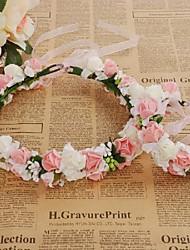cheap -Wedding Resin Headpiece with Flower 1 set Wedding Headpiece