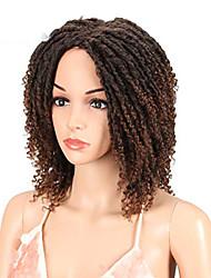 """cheap -6"""" short dreadlock wig twist wigs for black women short curly synthetic wigs (6"""", tt1b/30)"""