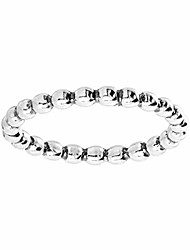 cheap -'fontana' beaded band ring in sterling silver, size 10