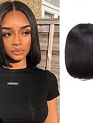 cheap -straight synthetic hort bob closure bob wigs brazilian virgin hair wig for women bob wig(10inch)