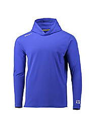 cheap -high line hoodie - water, wind and sweat repellent compression workout shirt - made in america