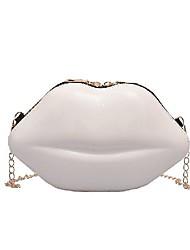 cheap -women chain versatile messenger bag fashion lips cute shoulder bag