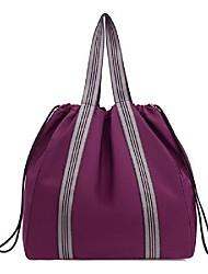 cheap -Women's Bags Nylon Synthetic Tote Crossbody Bag Zipper Daily Outdoor Handbags Baguette Bag Black Blue Purple Red