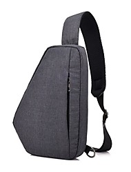 cheap -men oxford waterproof outdoor chest bag sling shoulder bag
