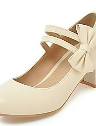 cheap -chunky heel velcro lolita shoes for women cute bowknot pumps ankle starp mary janes shoes