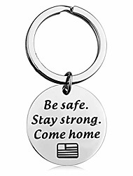 cheap -deployment gift military gift air force gift be safe stay strong come home deployment keychain army keychain navy keychain gift for husband boyfriend