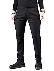 cheap -thermal jeans men thermal pants snow pants lined winter pants winter jeans with fleece black w36