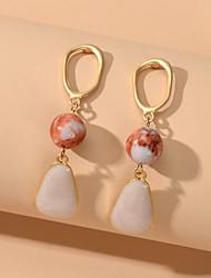cheap -Women's Drop Earrings Geometrical Fashion Sweet Earrings Jewelry White For Date Festival