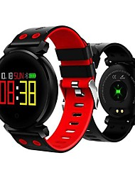cheap -K2 Smartwatch for Android iOS Samsung Apple Xiaomi Bluetooth 0.95 inch Screen Size IP68 Waterproof Level Waterproof Heart Rate Monitor Sports Smart Pedometer Call Reminder Sedentary Reminder Men Women