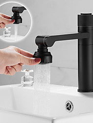 cheap -Bathroom Sink Faucet - Rotatable Electroplated Centerset Single Handle One HoleBath Taps