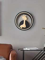 cheap -led modern wall lights deer design bedside lamp bedroom living room cafe iron wall light 220-240v 12 w