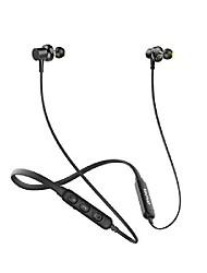 cheap -AWEI G20BL Dual Driver Neckband HiFi Wireless Sports Bluetooth Earphones Earbuds CVC Noise Cancelling IPX4 Stereo Deep Bass For Phone