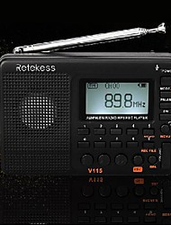 cheap -v-115 radio full band radio recorder fm am mp3 playback