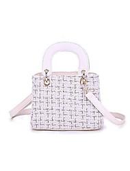 cheap -inpluser women's simple woolen hand held shoulder bag, small square bag, and versatile messenger bag (white)