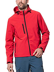 cheap -Men's Hiking Fleece Jacket Winter Outdoor Lightweight Windproof Breathable Quick Dry Jacket Top Fleece Fishing Climbing Camping / Hiking / Caving Sapphire Need a piece of contact customer service to