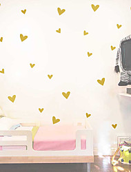 cheap -valentine's day simple and creative ins wall sticker children's room multi size love vinyl wall sticker decoration self adhesive removable
