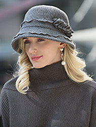 cheap -Headwear Casual / Daily Wool / Acrylic Hats with Solid 1pc Casual / Daily Wear Headpiece