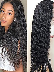 cheap -13*4 water wave lace wig is popular in Europe and the United States