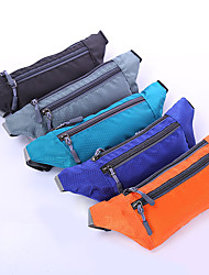 cheap -Women's Bags Polyester Fanny Pack Zipper Printing Daily Outdoor 2021 Watermelon Red Black Purple Red
