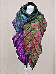 cheap -Women's Active Rectangle Scarf - Floral Windproof