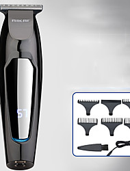 cheap -NK-1879 Gradient LCD Digital Display Rechargeable Hair Clipper Retro Oil Head Electric Clipper Powerful Electric Clipper For Hair Salon