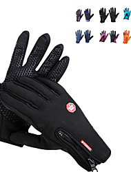 cheap -Climbing Gloves / Bike Gloves / Cycling Gloves / Ski Gloves Touch Screen Gloves Unisex Camping / Hiking / Ski / Snowboard / Cycling / Bike Fleece / Winter