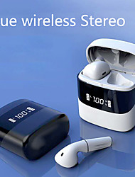cheap -Bluetooth 5.0 I19 Wireless Active Bluetooth Headset Tws Without Inductive Delay With Charging Compartment