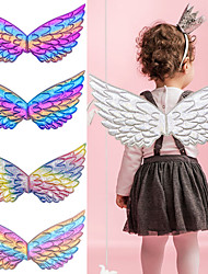 cheap -Princess Cosplay Costume Wings Halloween Props Girls' Movie Cosplay Stage Props Purple / Light Purple / Silver Wings Christmas Halloween Carnival