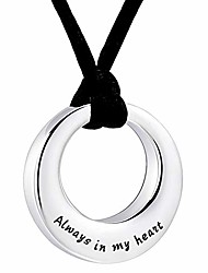 """cheap -urn necklaces for ashes """"always in my heart"""" ashes necklace cremation jewelry keepsake holder memorial necklace"""