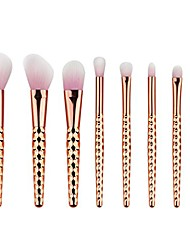 cheap -® new arrived 8pcs brand powder makeup brush set professional eye shadow blush brushes foundation contour make up brushes tools (rose golden)